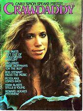 Crawdaddy September 1976 Carly Simon Rod Stewart Abbie Hoffman Howard Hughes