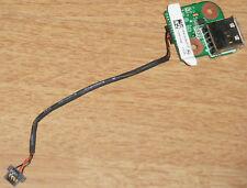 HP pavilion dv9000 usb carte port Jack DAAT 9tb28d6 + Câble Cable