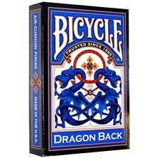 Dragon Back - Bicycle Playing Cards - Blue