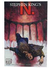 Stephen King's N. #4 Alex Maleev Guggenhiem Marvel Comics 2010