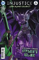 INJUSTICE GROUND ZERO #8 GODS AMONG US Renato Guedes Cover BATMAN DC COMICS