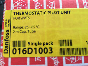 DANFOSS Thermostatic Pilot Unit for Type WVTS  #016D1003
