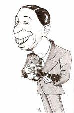 Greeting Card - George Formby on the Banjolele