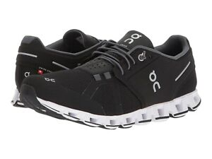 ON CLOUD Mens Black White Athletic Running Walking Shoes