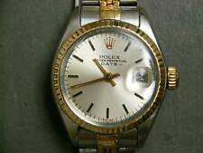 ROLEX OYSTER PERPETUAL DATE LADIES WRISTWATCH