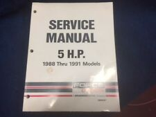 Mercury/Force Service manual 1988-1991 5hp models