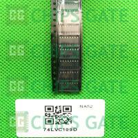 15PCS 74LVC109D,118 IC JK TYPE POS TRG DUAL 16SOIC NX P