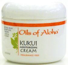 OILS OF ALOHA KUKUI CREAM ~ FRAGRANCE FREE ~ 12 / 4 OZ