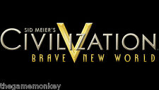 CIVILIZATION V BRAVE NEW WORLD [PC/Mac] STEAM key