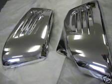Custom Ferrari Style Chrome side cover ACE Tourer Sabre 1100 VT1100 VT1100C2