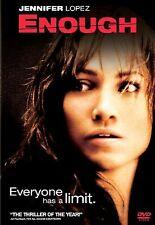 Enough (DVD, 2002) LIKE NEW