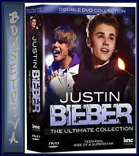 JUSTIN BIEBER - THE ULTIMATE DVD COLLECTION  *BRAND NEW DVD BOXSET *