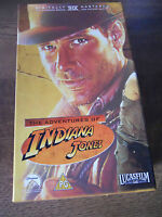 Indiana Jones Trilogy (VHS, 2003, 3-Tape Set, Box Set)