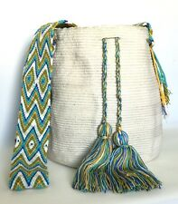 AUTHENTIC LARGE Wayuu Hobo Mochila Bag + FREE Bracelet + FREE US Shipping