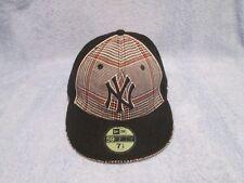 NEW ERA 5950 FITTED MLB NEW YORK YANKEES Tweed Baseball Cap Hat; New w/TAGS