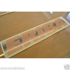 ERIBA - (1980's) - Caravan Retro Roof Name Sticker Decal Graphic - SINGLE