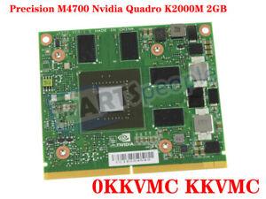 FOR DELL Precision M4700 Nvidia Quadro K1000M 2GB Video Graphics Card 0KKVMC