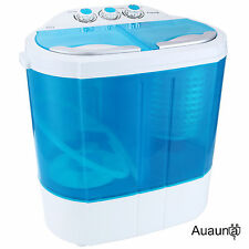 Portable Mini 8-9lbs RV Dorm Compact Washing Machine Washer Spin Dryer Laundry