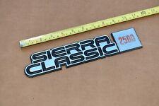 81-87 GMC Sierra Classic Pickup 2500 Left Right Fender Emblem C2500 K2500