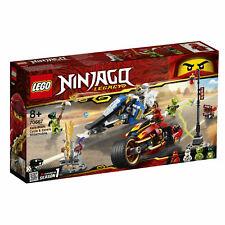 LEGO Ninjago Kais Feuer-Bike & Zanes Schneemobil (70667) +neu und ovp+