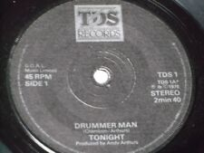 Tonight:   Drummer Man   EX+  Power Pop    7""