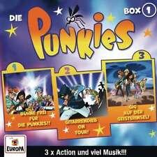 3 CDs * DIE PUNKIES - BOX 01 - FOLGEN 1-3 # NEU OVP =