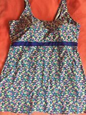 BNWT NECKERMANN FLORAL SMIWSUIT SWIMDRESS SIZE 56 UK 30 E CUP PLUS SIZE ♡♡♡