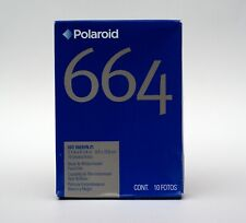 1x Polaroid 664 B&W Instant Pack Film EXP 2010 same as Fuji FP-100B COLD STORED