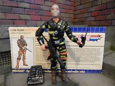 GI JOE ~ TIGER FORCE WRECKAGE ~  100% COMPLETE & file card ~ FIREFLY