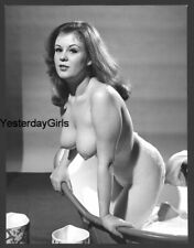 YGST-2061 VINTAGE 1960'S 7X10 ART NUDE BRITISH BUXOM MODEL SHOT BY RUSSELL GAY