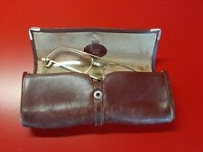 Lunettes CARTIER vintage 56-16 + étui cuir