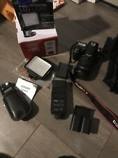 Canon EOS 70D 20.2MP Digital SLR Camera - Black (Kit w/ EF IS USM 18-135mm Lens)