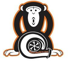 "Official Boostaholics turbo boost monkey sticker aka ""HARAMBE"""