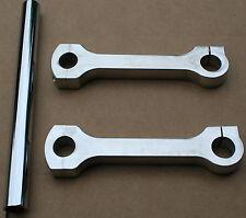 """NOS Vintage Handle Bar 6"""" Dog Bones 7/8"""" Chopper Triumph Dog Bone 362"""