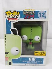 Funko POP Television Invader Zim GIR #12 Hot Topic Exclusive Blue Box