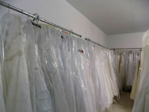 Lot of 20 Bridal gowns (Various Designers)