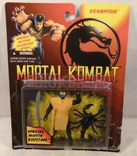 Mortal Kombat Movie Edition Scorpion Action Figure Hasbro (Mint On Opened Card)