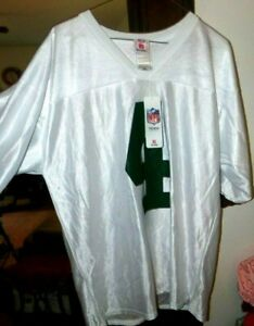 Bret Farve #4 New York Jets NFL Apparel White/Green Football Jersey w/Tags!