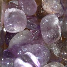 1/4 LB BULK Medium Amethyst Tumbled Stones Natural Crystal Wholesale lot
