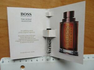 Hugo Boss The Scent leerer mini Parfüme Flakon 1,5ml Musterprobe Deutschland
