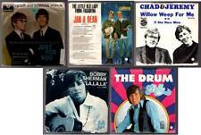 Set of 5 PETER & GORDON, JAN & DEAN, CHAD & JEREMY, BOBBY SHERMAN 45rpm records