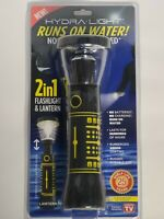 Runs on only Water BRIGHT! Hydra Light Flashlight /& Lantern No Batteries Needed