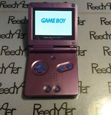 Blue & Purple Zelda GameBoy Advance SP *MINT* AGS-101 Brighter Nintendo System