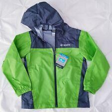 Columbia Waterproof Rain Kids Jacket Zipper Coat Size 8