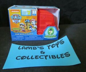 Paw Patrol Nickelodean Paw Mini Figures Mystery Dino Series 7 red vehicle pack