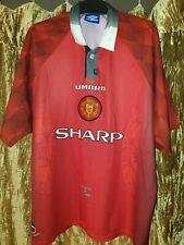 Retro Manchester United Shirt Umbro Size XXL 1996