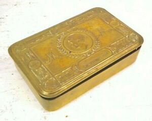 WW1 BRITISH ARMY QUEEN MARY CHRISTMAS TIN