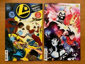 LEGION OF SUPER HEROES 8 2020 Main Cover A + Nguyen Variant Set DC NM