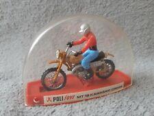 Véhicule Miniature Politoys Moto MT 18 Kawasaki Cross Vintage A-22 no Harley
