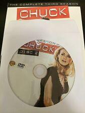 Chuck – Season 3, Disc 2 REPLACEMENT DISC (not full season)